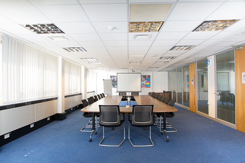 Meeting room at Plumer House