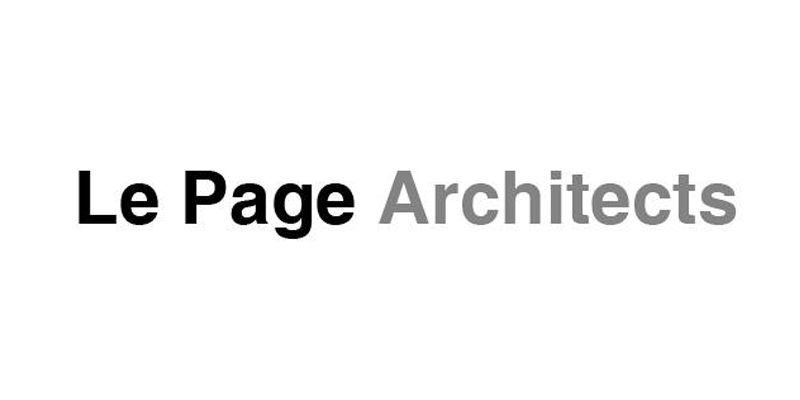Le Page Architects logo